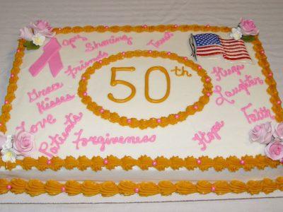 50 Annv Cake