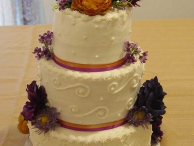 50th Wedding Cake