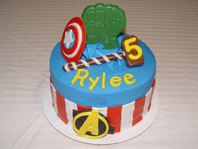 Avenger Cake