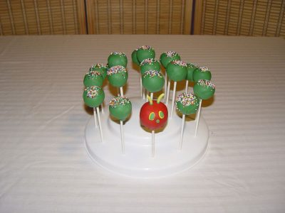 Caterpillar Cake Pop