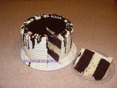 Choc Cheesecake Cake