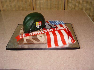 Green Beret Cake