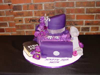 Purple Hat Cake