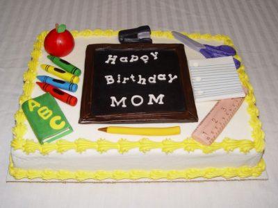 Teacher Cake