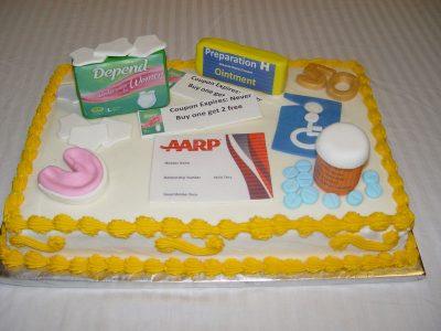 Aarp 50 Cake