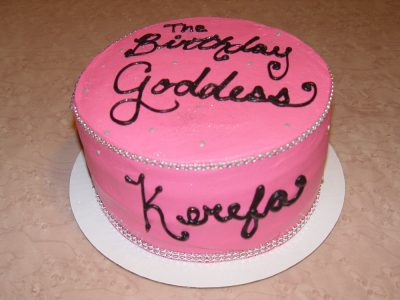 Birthday Goddess Cake