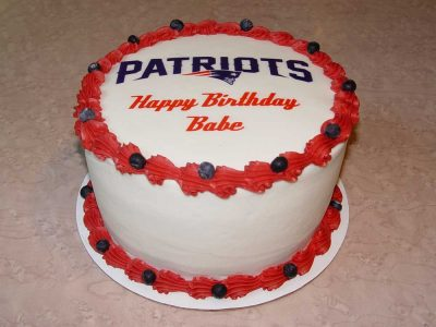 Birthday Patriots Cake