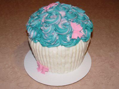 Blue Swirl Cupcakes