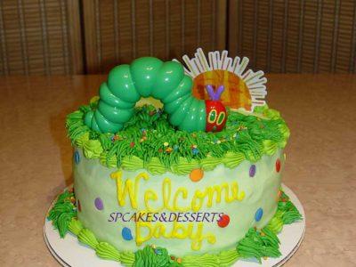 Caterpiller Cake