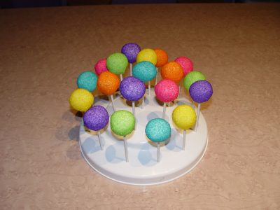 Colorful Cake Pops