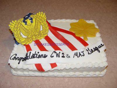 Congratulations Cw2 Cake