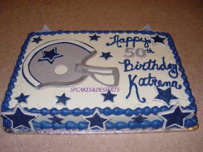 Cowboys Sheet Cake