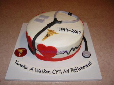 Cpt Retirement Cake