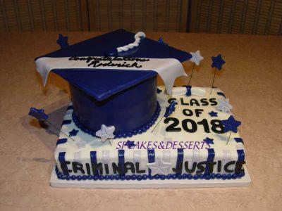 Criminal Justice Cake