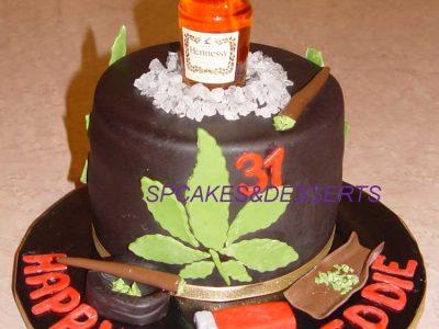 Drugs Cake