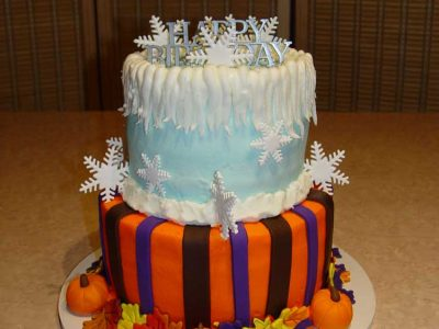 Frozen Fall Cake