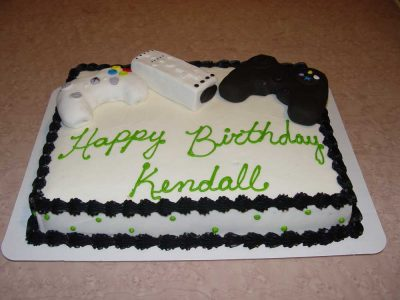 Game Controllers Cake