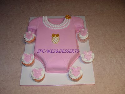 Girl Clothes Cupcakes