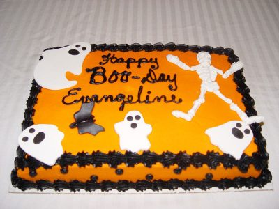 Happy Boo Day Cake