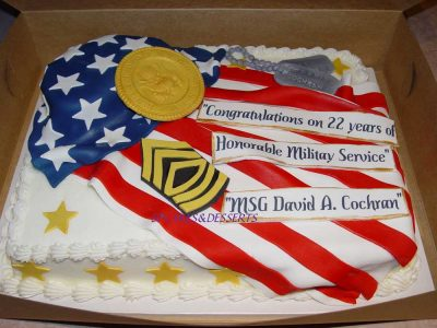 Military Service Cake 2