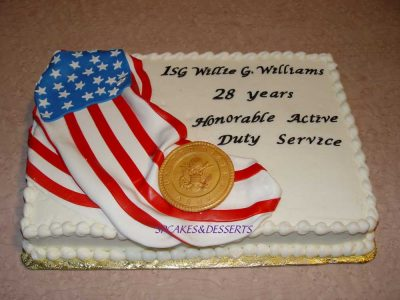 Military Service Cake 3