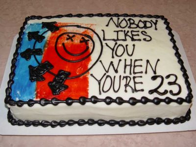 Nobody Likes You Cake