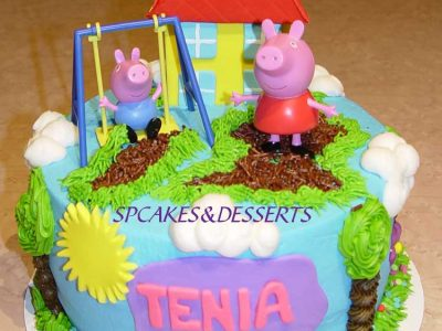 Peppa Pig Home Cake