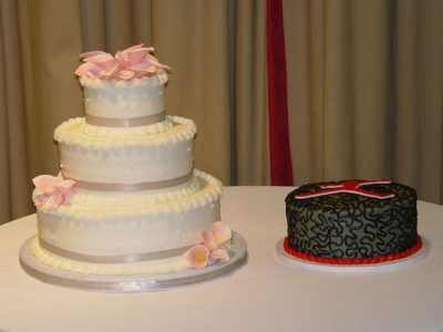 Pink Wedding Cake Mj Cake