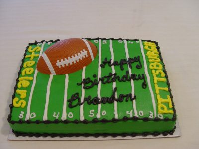 Pittsburg Steelers Cake