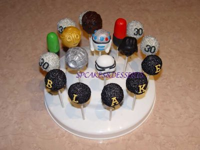 Star Wars Cake Pop