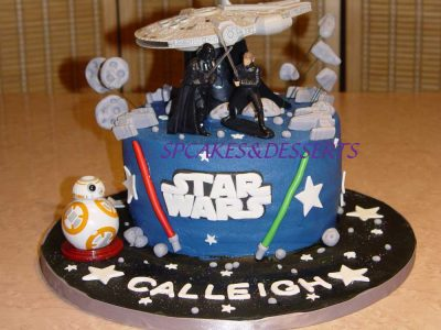 Star Wars Children Cake