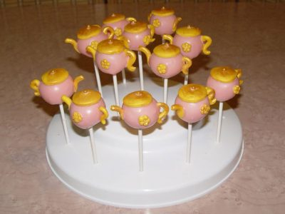 Tea Pot Cake Pop