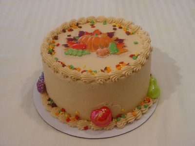 Thanksgiving Pumpkin Cake