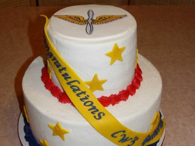 Tiered Military Cake