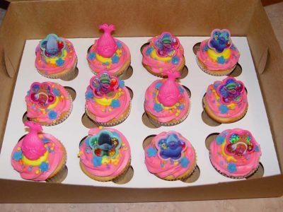 Trolls Cupcake