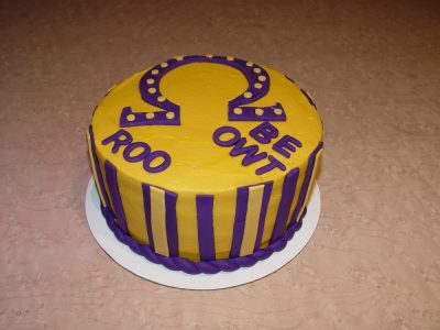Yellow Purple Cake